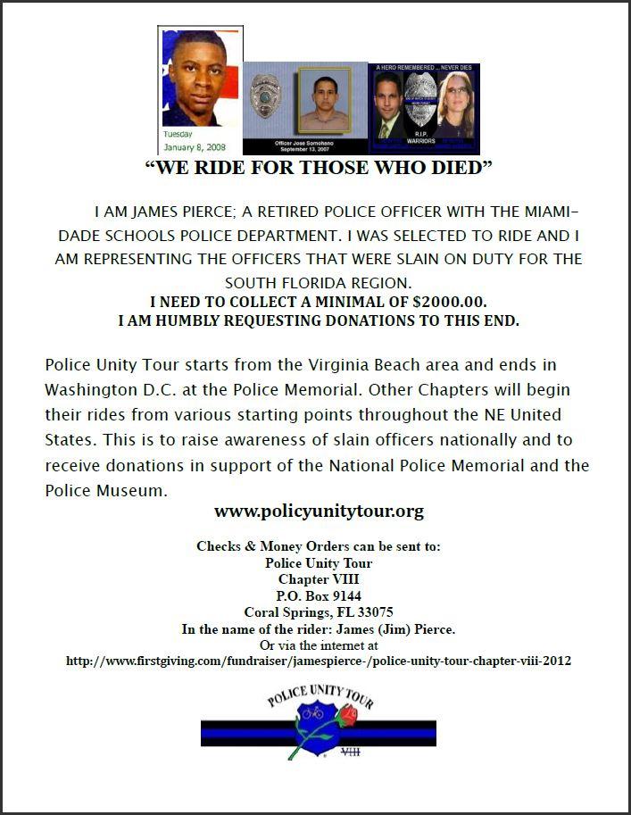 2012 Police Unity Tour