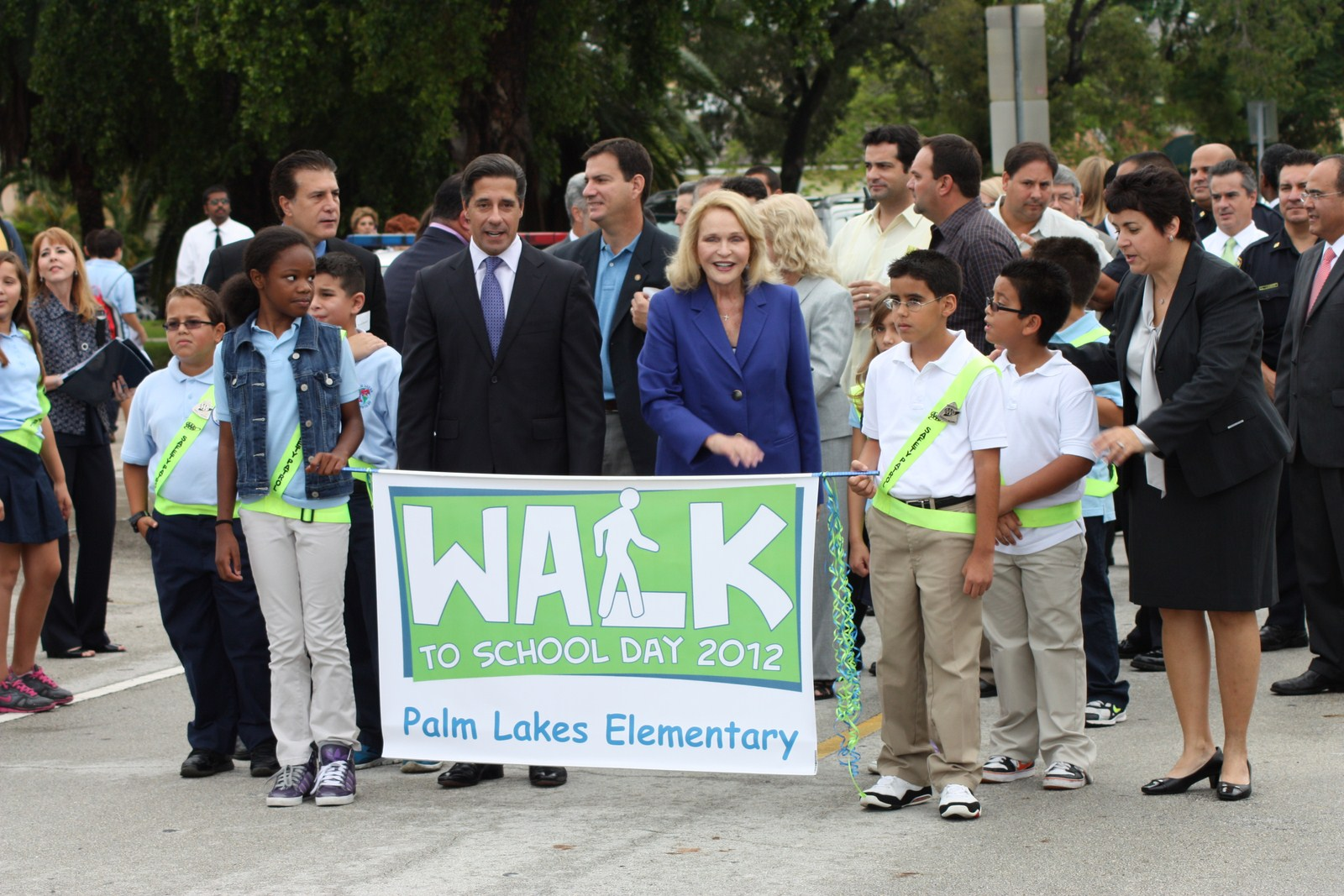 Walk to School Day 2012