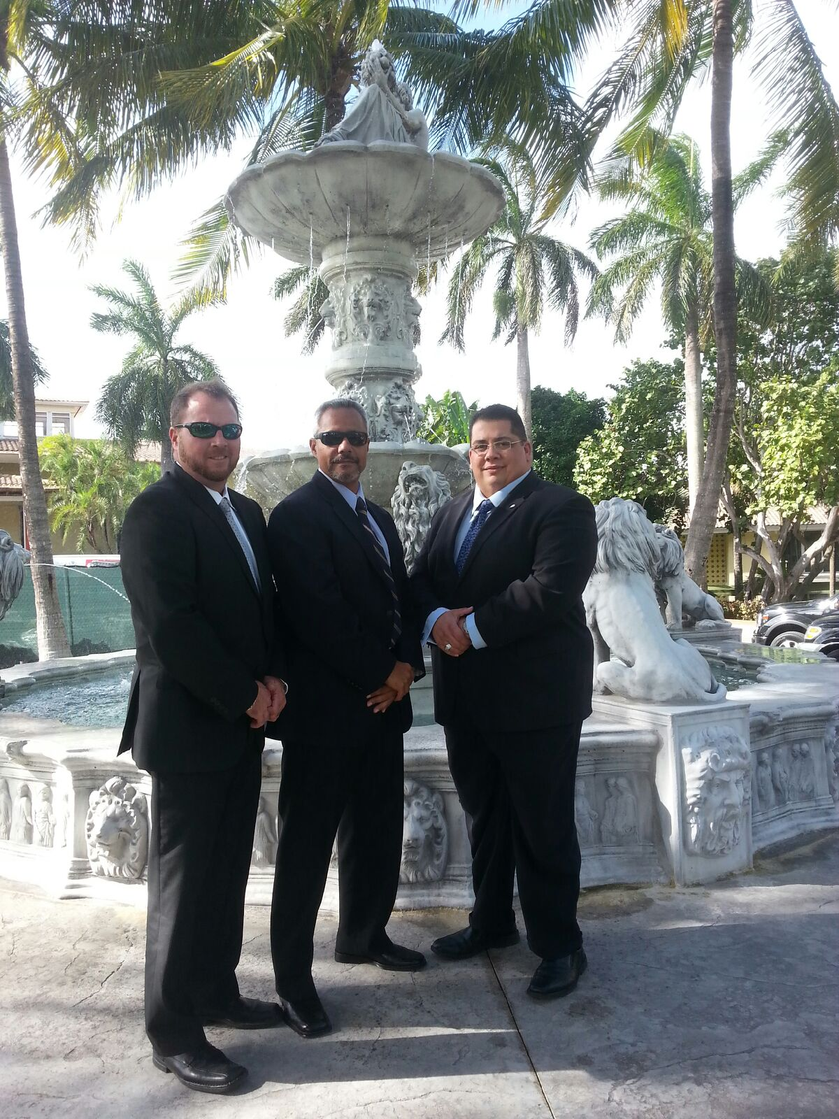 Miami Dade Schools Police Officers Offer Dignitary Protection