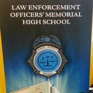 Law Enforcement Officers' Memorial High School Career Fair