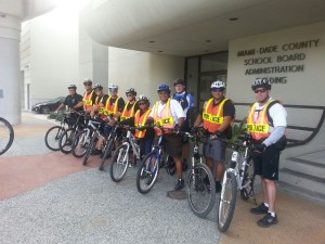 9 bicycle certified officers recently completed their training.