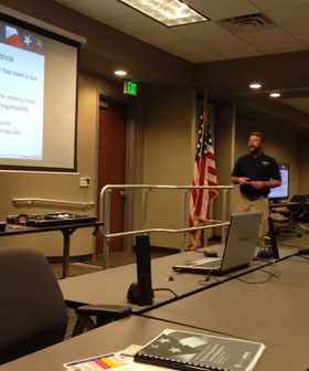 ATF – FEMA Training For MDS Police And Members Of Local Police