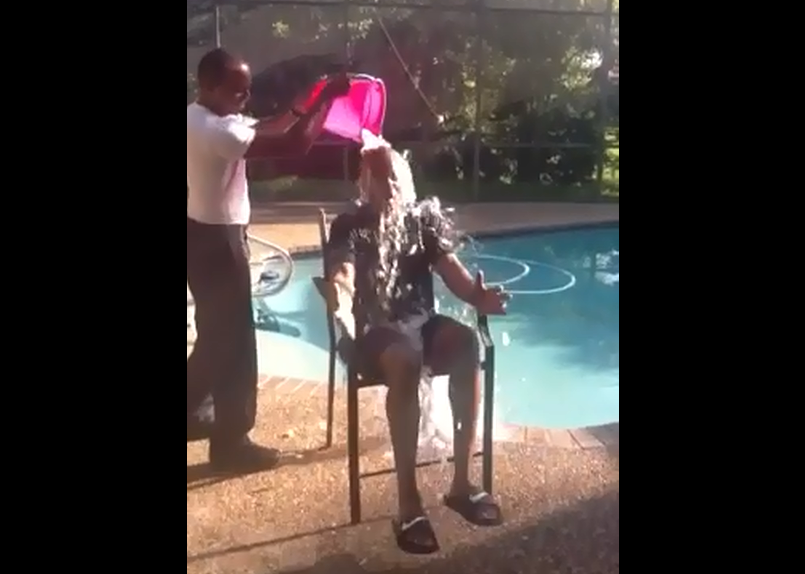 M-DSPD Chief Ian Moffett Accepts ALS Ice Bucket Challenge