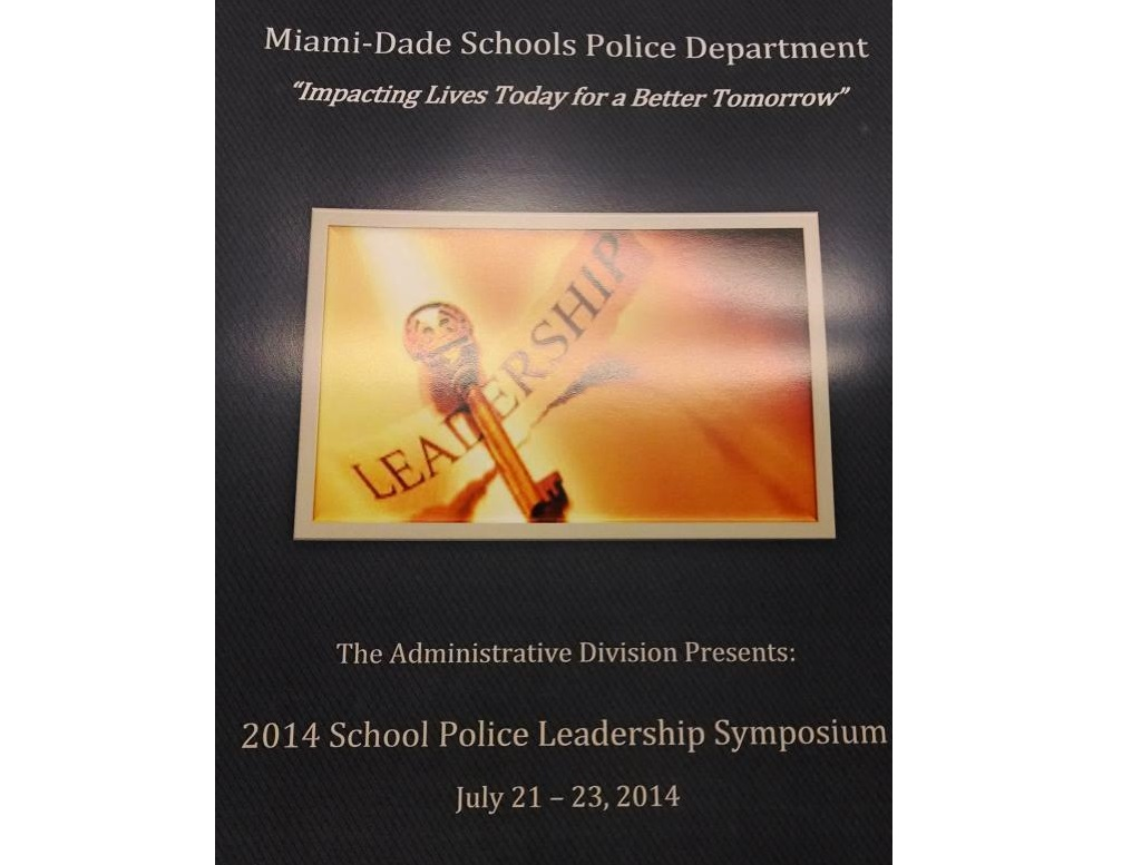 2014 School Police Leadership Symposium