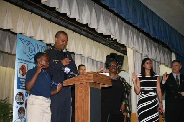 Chief Ian A. Moffett Launches Gun Safety Awareness