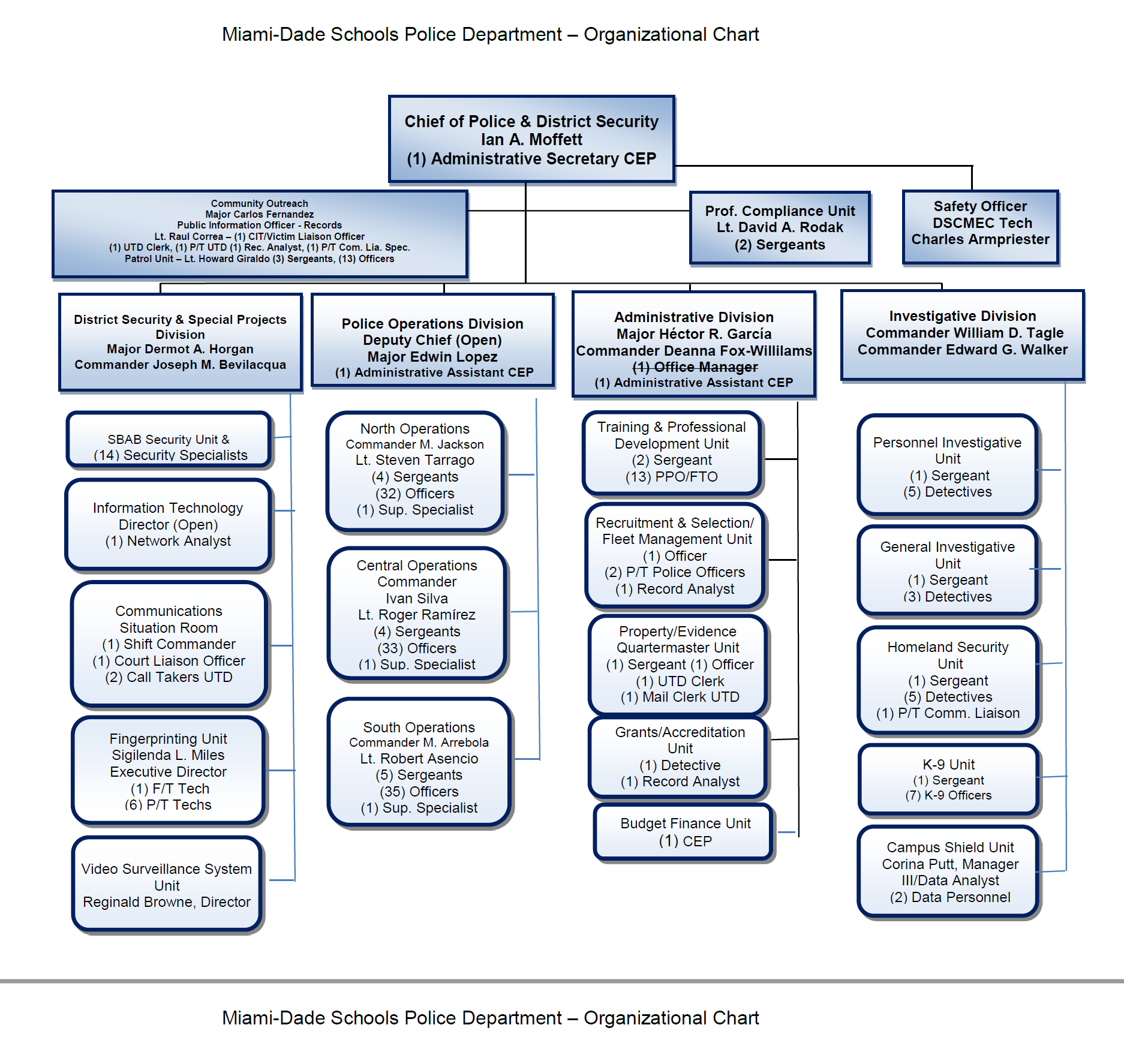 police organizational structures essay