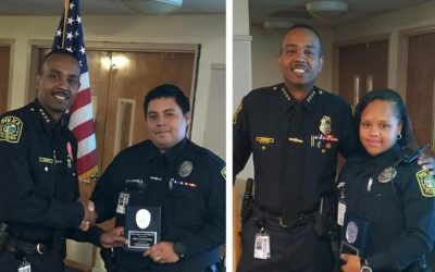 Miami Dade Schools Police Congratulates – Officers Rodas and Biamby